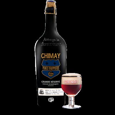 Chimay Grande Réserve Vieille En Barriques - 2016/10/12 (Chene, Cognac)