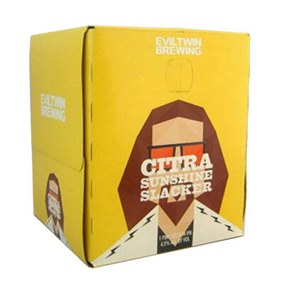 Evil Twin Citra Sunshine Slacker four-pack