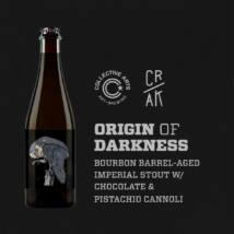 Origin of Darkness w/ Chocolate & Pistachio Cannoli | Collective Arts (CAN) / CRAK (IT) | 0,5L - 8,4%