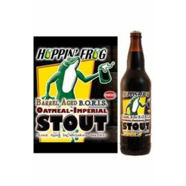Barrel Aged B.O.R.I.S. The Crusher | Hoppin' Frog (USA) | 0,355L - 9,4%