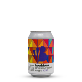 Bockstreet's Bock, Alright!   Beerbliotek (SWE)   0,33L - 6,8%