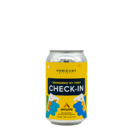 I Remember My First Check-In | Horizont (HU) | 0,33L - 5%