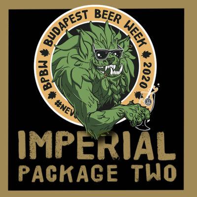 BPBW Budapest Beer Week   Home Sessions   Imperial II. sörcsomag