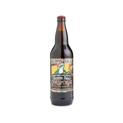 Frosted Frog Christmas Ale    Hoppin' Frog (USA)   0,65L - 8,6%