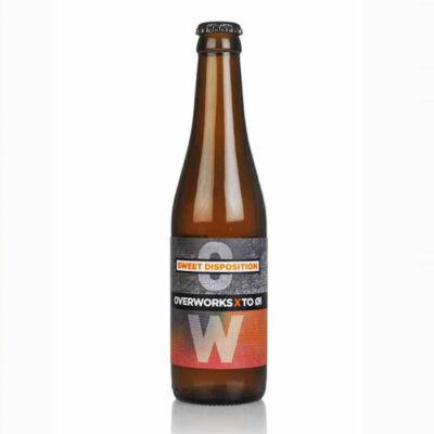 Sweet Disposition   Overworks / BrewDog (SCO) x To Øl (DK)   0,33L - 4,9%