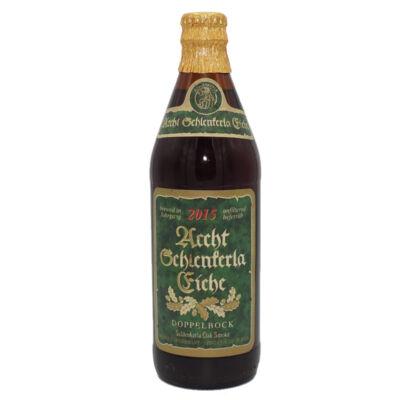 Aecht Schlenkerla Rauchbier Eiche Jahrgang 2015   Heller Bamberg (DE)   0,5L - 8%