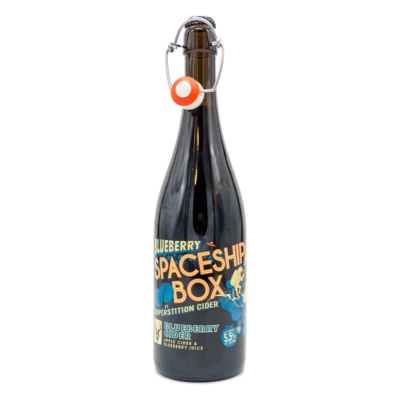 Blueberry Spaceship Box | Superstition (USA) | 0,75L - 5,5%
