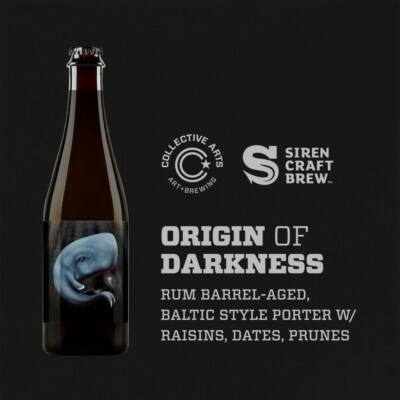 Origin of Darkness w/ Raisins, Dates, Prunes | Collective Arts (CAN) / Siren (ENG) | 0,5L - 9,6%