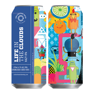 Life In The Clouds   Collective Arts (CAN)   0,473L - 6,1%