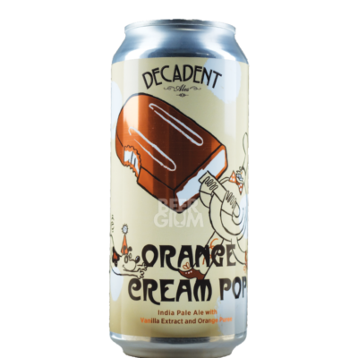 Decadent Ales Orange Cream Pop