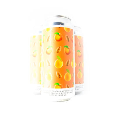 Millions of peaches, apricots and almonds. Peaches, apricots and almonds for me | Evil Twin NYC (USA) | 0,473L - 7%
