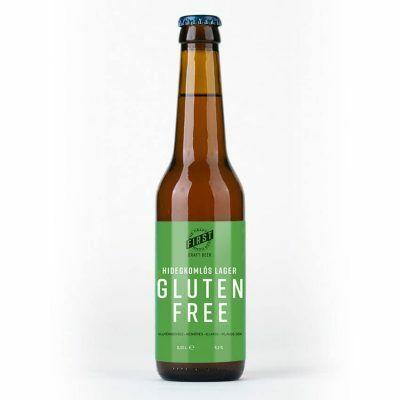 GLUTEN FREE Hidegkomlós Lager | First (HU) | 0,33L - 5,2%