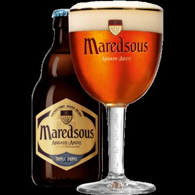 Maredsous 10 Tripel | Abbaye Maredsous (BE) | 0,33L - 10%