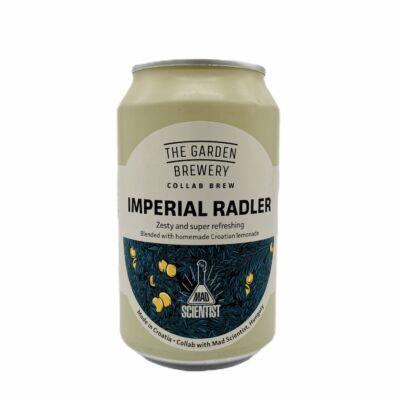 Imperial Radler   The Garden (HR) / Mad Scientist (HU)   0,33L - 4,2%