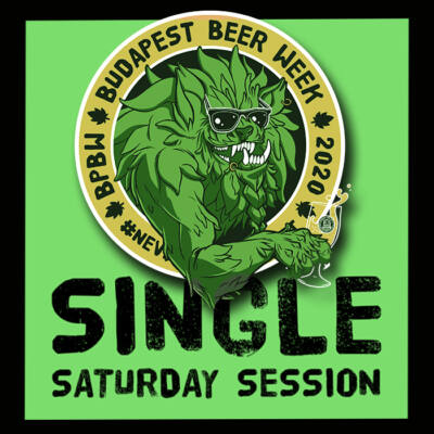 BPBW Budapest Beer Week | Home Sessions | Single Saturday sörcsomag
