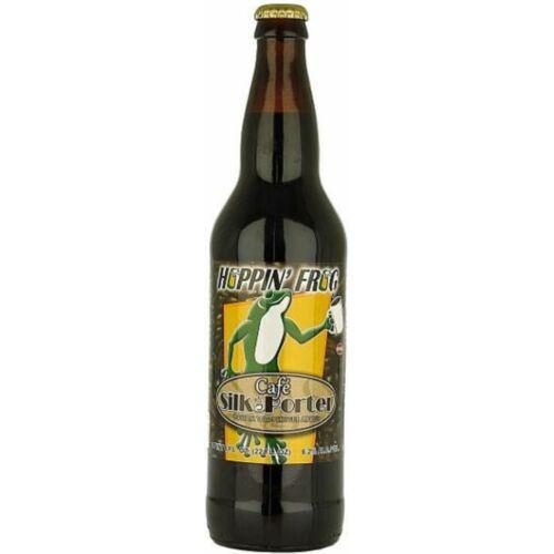 Café Silk Porter   Hoppin' Frog (USA)   0,65L - 6,2%