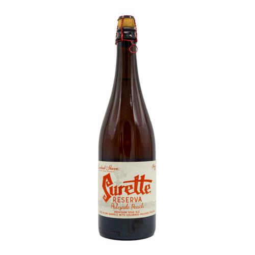 Surette Reserva Palisade Peach (2017)   Crooked Stave (USA)   0,75L - 6,2%