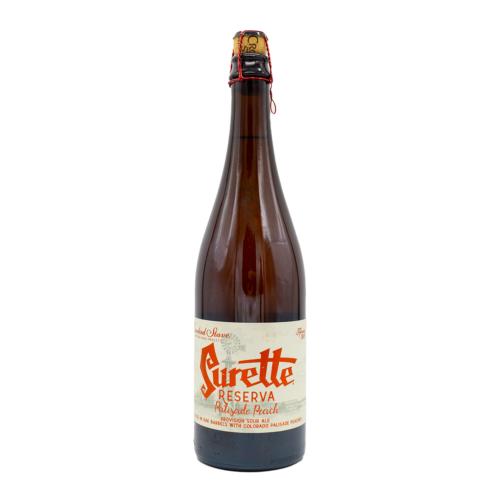 Surette Reserva Palisade Peach (2018)   Crooked Stave (USA)   0,75L - 6,2%