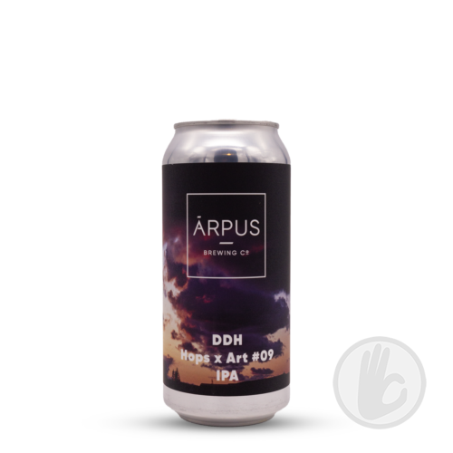 DDH Hops x Art #09   Arpus (LVA)   0,44L - 6,5%