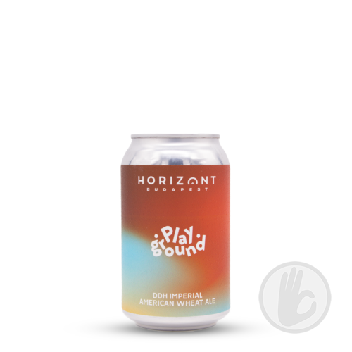 Playground - DDH Imperial American Wheat Ale   Horizont (HU)   0,33L - 8,5%