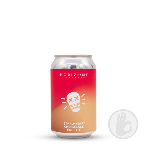 Selfish Games Strawberry Cheescake Pale Ale | Horizont (HU) | 0,33L - 6,2%