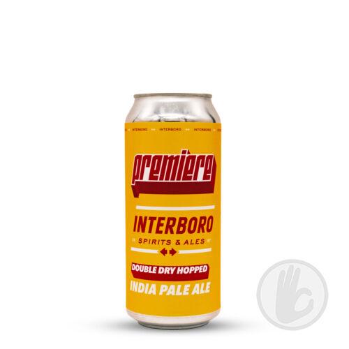 Double Dry Hopped Premiere IPA   Interboro Spirits & Ales (USA)   0,473L - 6%