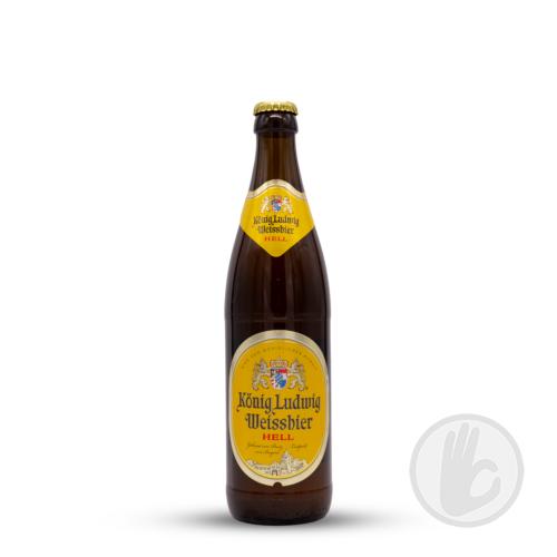 Weissbier Hell   König Ludwig (DE)   0,5L - 5,5%