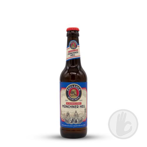 Münchner Hell Alkoholfrei   Paulaner (DE)   0,33L - 0.5%