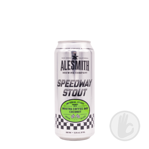 Speedway Stout: Mostra Coffee & Coconut   AleSmith (USA)   0,473L - 12%