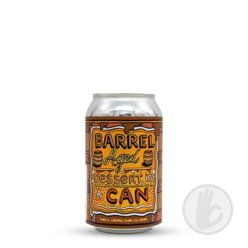 Barrel Aged Dessert In A Can - Tonka & Caramel Swirl Ice-Cream | Amundsen (NOR) | 0,33L - 11,5%