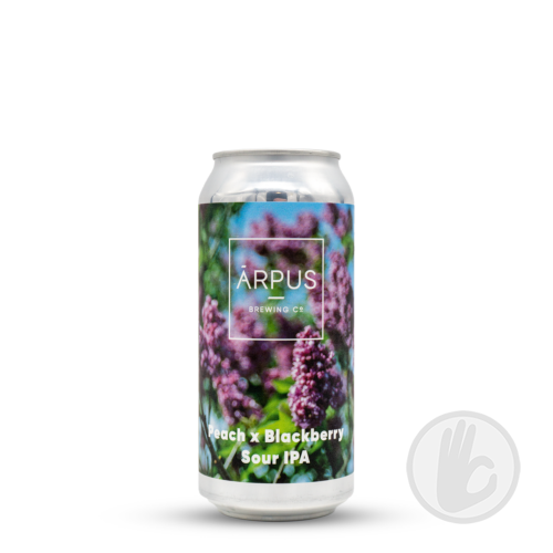 Peach x Blackberry Sour IPA | Arpus (LVA) | 0,44L - 7,5%