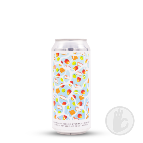 How Much Cheese Is Even More Cheese? Mango, Key Lime, Coconut Edition | Evil Twin NYC x Two Tides (USA) | 0,473L - 6,5%