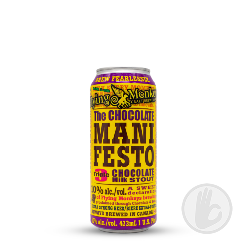 The Chocolate Manifesto (can)   Flying Monkeys (CAN)   0,473L - 10%