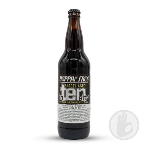 Barrel Aged In-TEN-sity | Hoppin' Frog (USA) | 0,65L - 12%