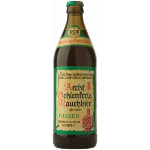 Aecht Schlenkerla Rauchbier Weizen   Heller Bamberg (DE)   0,5L - 5,2%