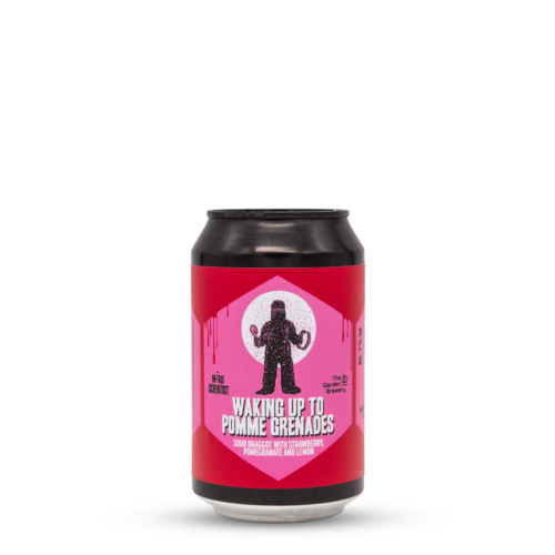 Waking up to Pomme Grenades   Mead Scientist (HU) x The Garden Brewery (HR)   0,33L - 7%