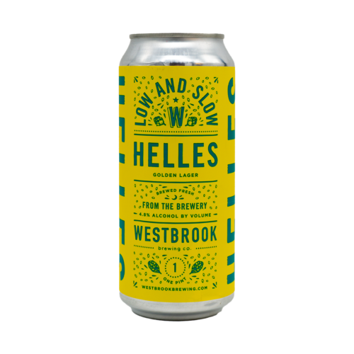 Low And Slow Helles | Westbrook (USA) | 0,473L - 4,8%